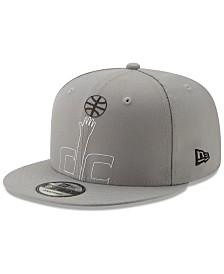 New Era Washington Wizards Light It Up Gray 9FIFTY Snapback Cap