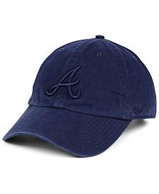 '47 Brand Atlanta Braves Tonal CLEAN UP Strapback Cap