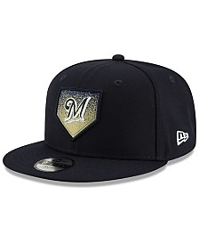 New Era Milwaukee Brewers Lil Plate 9FIFTY Cap