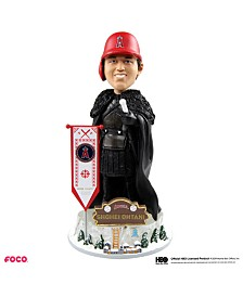 Forever Collectibles Shohei Ohtani Los Angeles Angels Game Of Thrones Nights Watch Bobblehead