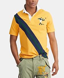 Polo Ralph Lauren Men's Stripe Rugby Polo Shirt