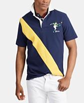 ff95b79ba Polo Ralph Lauren Men's Stripe Rugby Polo