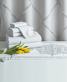Home Chenille Lattice 8-Pc. Bath Kit Collection