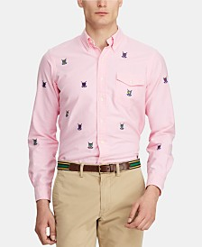 Polo Ralph Lauren Men's Embroidered Logo Shirt