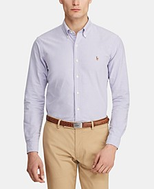 폴로 랄프로렌 Polo Ralph Lauren Mens Classic Fit Long Sleeve Solid Oxford Shirt