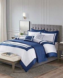 Madison Park Heritage 8-Pc. Comforter and Coverlet Set Collection
