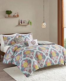 Intelligent Design Isadora 5-Pc. Paisley Medallion Print Comforter Sets