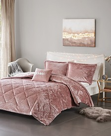 Intelligent Design Felicia 4-Pc. Velvet Comforter Sets
