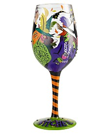 Enesco Lolita Cheers Witches Wine Glass