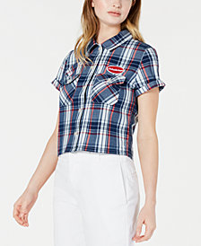 Dickies Plaid Cotton Shirt