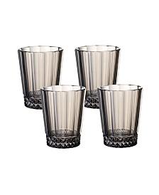 Villeroy & Boch Opera Smoke Water/Juice Glass: Set of 4