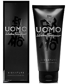 Salvatore Ferragamo Uomo Casual Life Shampoo & Shower Gel, 6.8-oz.