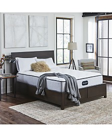"Beautyrest BR800 12"" Medium Firm Mattress Set - Queen Split"