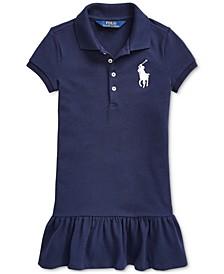 Toddler Girls Short-Sleeve Big Pony Dress