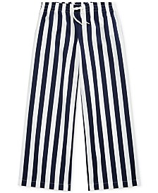 Polo Ralph Lauren Big Girls Striped Cotton Dobby Pants