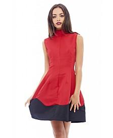 AX Paris High Neck Wave Dress