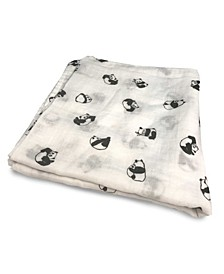 Panda Baby Rayon/Viscose from Bamboo Swaddle in Panda