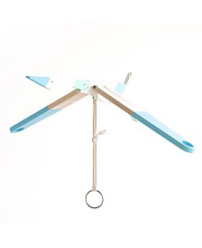 Hanging Wooden Mobile Seagull