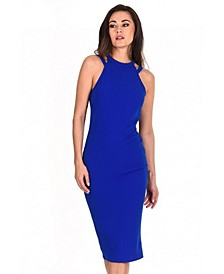 Double Strap Midi Dress