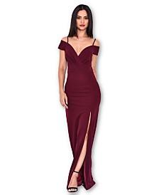 AX Paris Wrap Over Maxi Dress