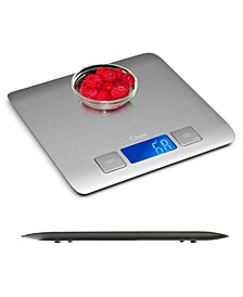Zenith Kitchen Scale, in Stainless Steel with Fingerprint Resistant Coating
