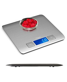 Ozeri Zenith Kitchen Scale, in Stainless Steel with Fingerprint Resistant Coating
