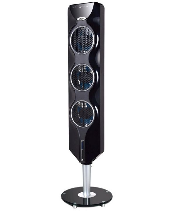 """Ozeri 44"""" 3x Tower Fan with Passive Noise Reduction Technology"""