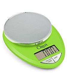 Ozeri Pro Digital Kitchen Food Scale, 0.05 oz / 1 g to 12 lbs / 5.4 kg