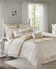 Mindy Cotton 9-Pc. Queen Comforter Set