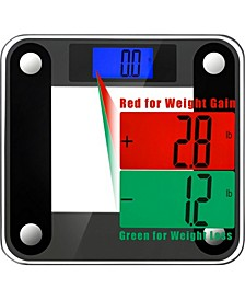 Precision II 440 lbs Bath Scale with 0.1 lbs Sensors and Weight Change Detection