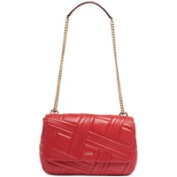 Deals on DKNY Allen Leather Flap Shoulder Bag