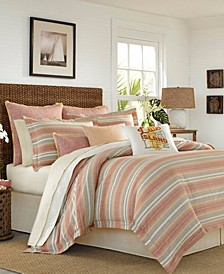 Tommy Bahama Sunrise Stripe King Comforter Set