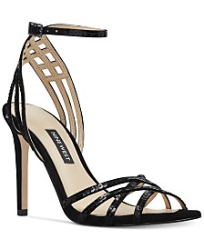 Nine West Women's Ivonne Strappy Evening Sandals