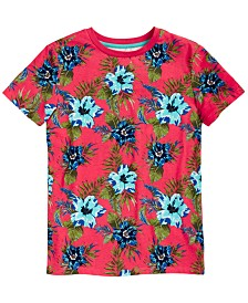 Epic Threads Little Boys Floral T-Shirt, Created for Macy's