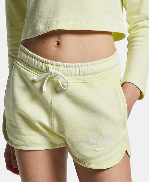 Nike Women's Sportswear Cotton Washed Shorts