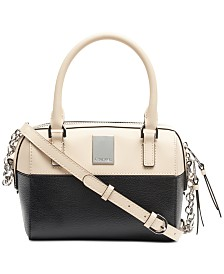 Calvin Klein Tonya Leather Crossbody