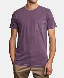 RVCA Men's 2-Pigment Pocket T-Shirt