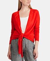 146c54b391a8c Lauren Ralph Lauren Open-Front Sweater
