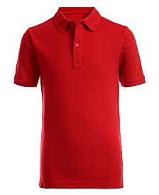 Nautica Husky Boys Stretch Double Piqué Polo