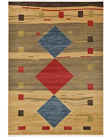 Bridgeport Home Ojas Oja1 Tan 7' x 10' Area Rug