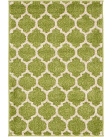 "Bridgeport Home Arbor Arb1 Light Green 2' 2"" x 3' Area Rug"