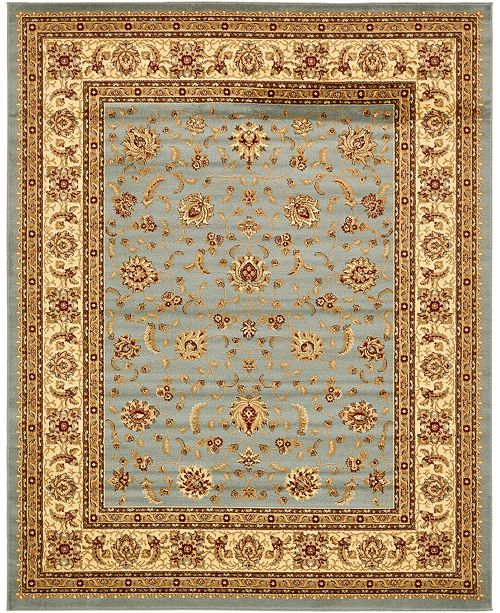 Bridgeport Home Passage Psg4 Light Blue 8' x 10' Area Rug