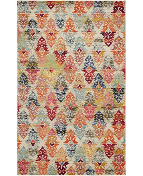 "Bridgeport Home CLOSEOUT! Arcata Arc1 Multi 10' 6"" x 16' 5"" Area Rug"