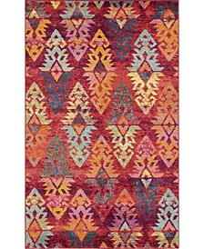 CLOSEOUT! Arcata Arc1 Rust Red 5' x 8' Area Rug