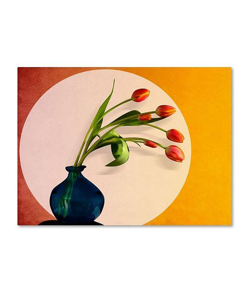 "Trademark Global Mark Ashkenazi 'Tulips 3' Canvas Art - 18"" x 24"""