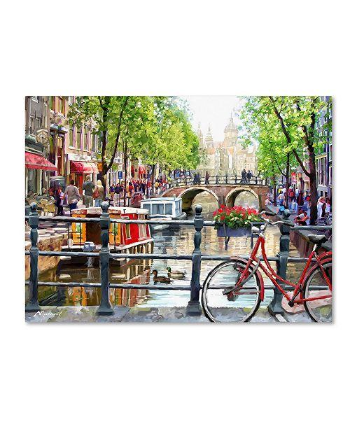 "Trademark Global The Macneil Studio 'Amsterdam Landscape' Canvas Art - 18"" x 24"""
