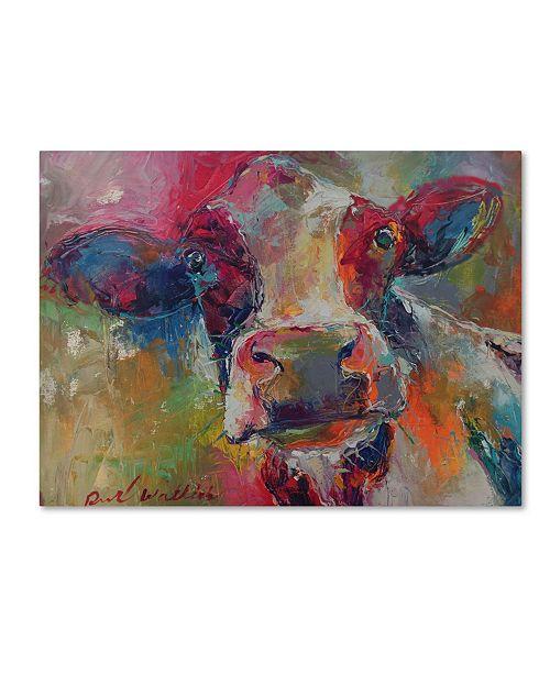 """Trademark Global Richard Wallich 'Art Cow 4592' Canvas Art - 18"""" x 24"""""""