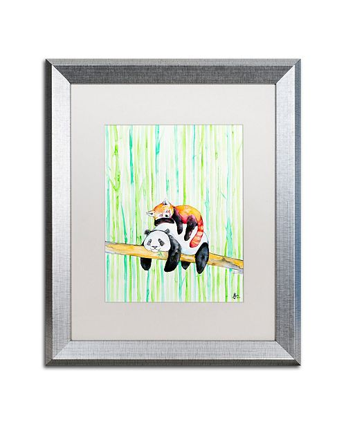 "Trademark Global Marc Allante 'Lullaby' Matted Framed Art - 16"" x 20"""