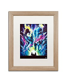 "Marc Allante 'Stardust' Matted Framed Art - 16"" x 20"""