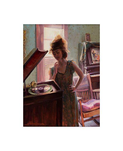 "Trademark Global Steve Henderson 'Phonograph Days' Canvas Art - 18"" x 24"""